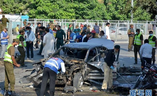 巴基斯坦自杀式炸弹袭击已致26人死
