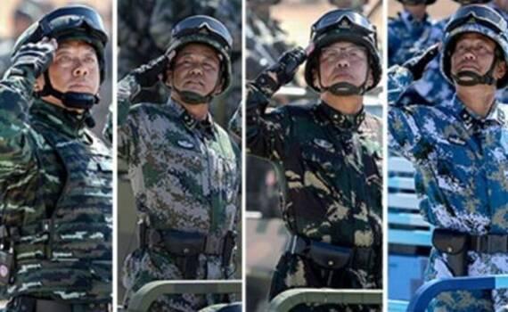 将星闪耀!一睹朱日和阅兵将军领队风采