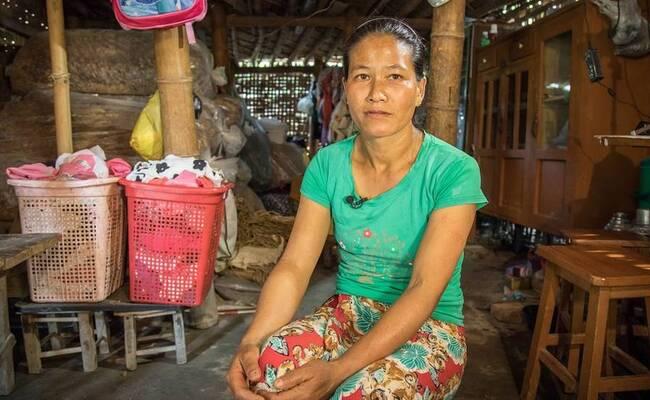 为躲避战乱,缅甸女子选择嫁到中国