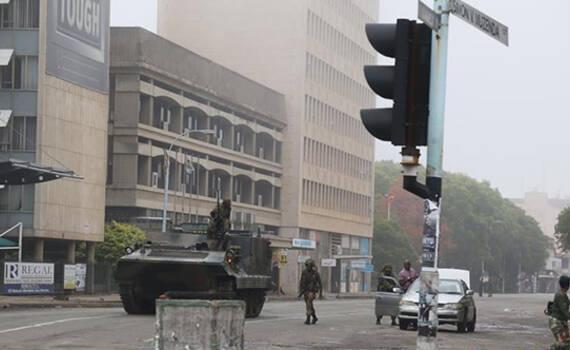 津巴布韦首都局势趋于平静 中国造武器维持秩序