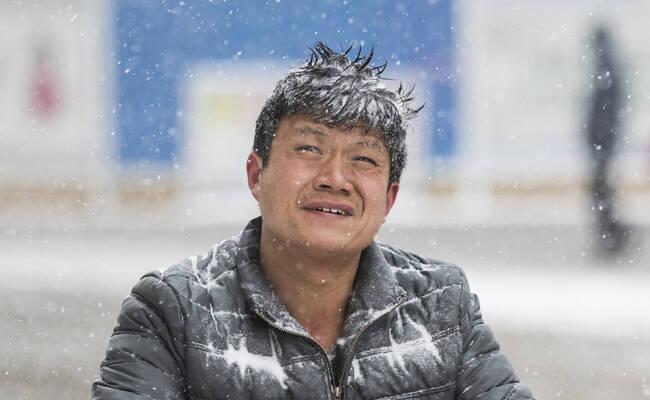 全国多地迎来新年第一场雪