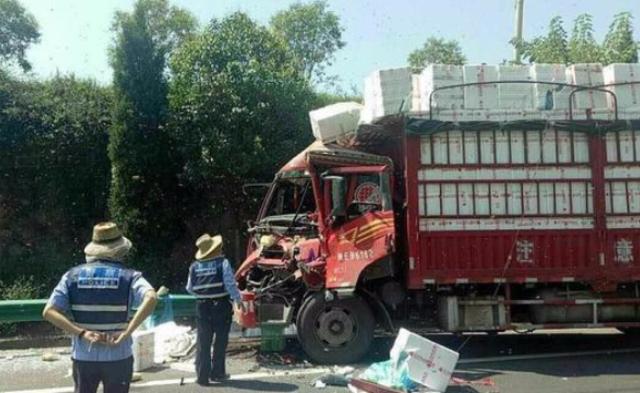 货车相撞 200箱蜜蜂倾巢而出见人就蛰丨组图