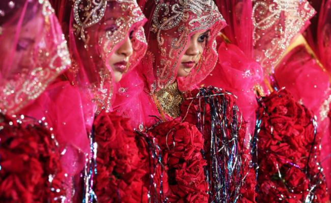 穆斯林的集体婚礼