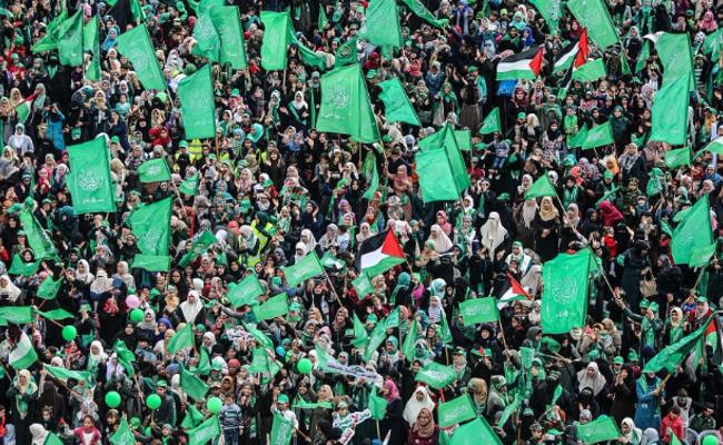 哈马斯庆祝成立30周年