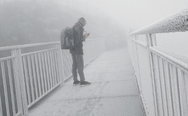 广东下雪了