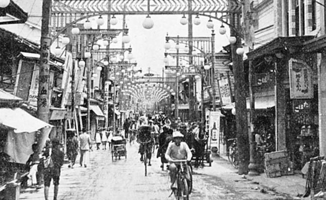 老照片:核爆炸前的日本广岛