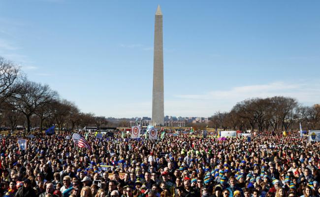 美国第45届反堕胎大游行