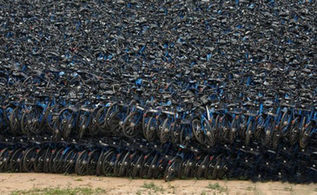 深圳所有小蓝单车都在这了