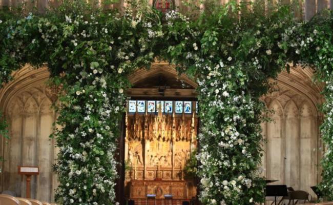 哈里王子婚礼现场先睹为快