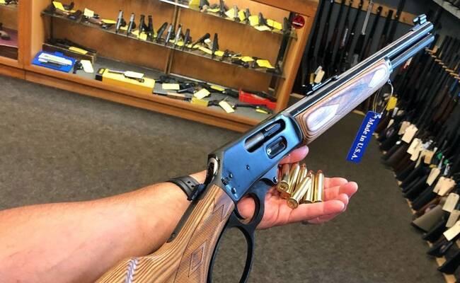 荒野大镖客:经典杠杆步枪美国西部的牛仔精神