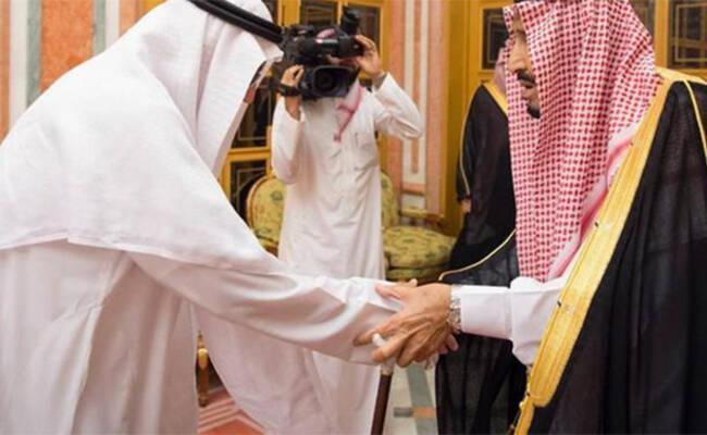 沙特国王接见遇害记者家人 亲属表感谢