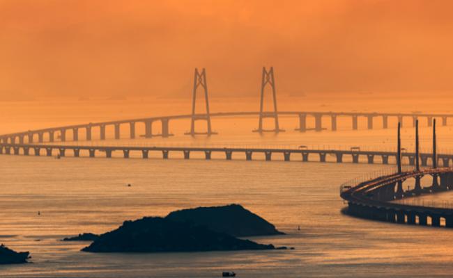 港珠澳大桥美图赏