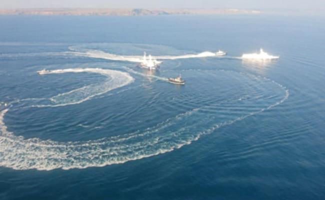 俄方向乌克兰军舰开火