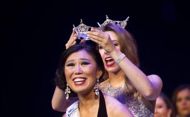华裔女孩当选美国密歇根州小姐