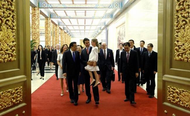 """""""最帅总理""""在京的10个瞬间"""