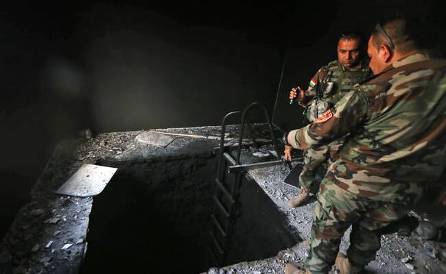 伊拉克军继续挺进摩苏尔 发现多条IS地道