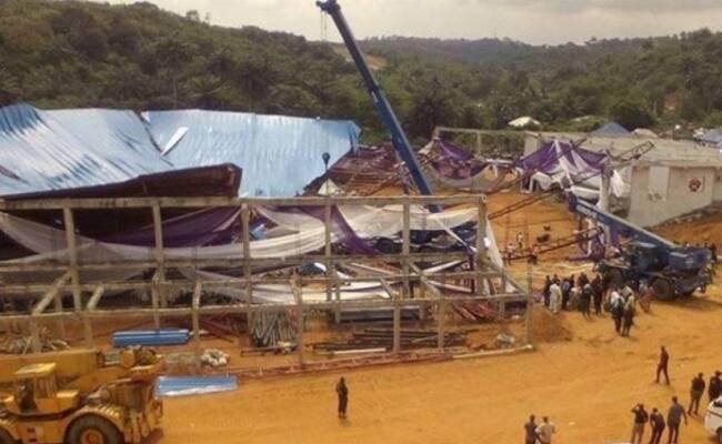 人们举行仪式时 教堂突然倒塌致160死