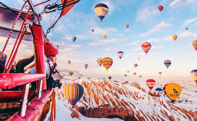 土耳其的梦幻热气球