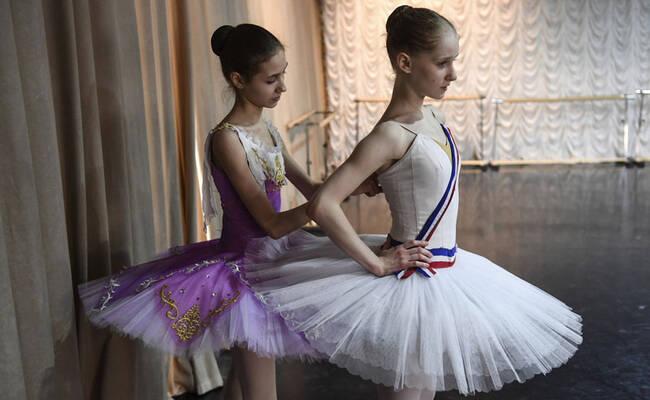 幕后记录俄罗斯芭蕾学校生活