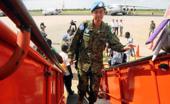 """日本自卫队撤离南苏丹""""丢盔弃甲"""" 队员:松了口气"""