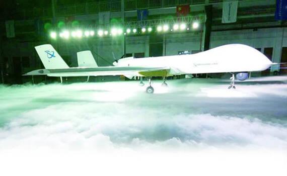 中国最先进长航时无人机亮相 1.0版曾巡航钓鱼岛