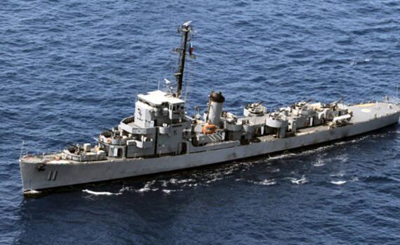 世界现役最古老护卫舰终于退休,曾在三国服役74年