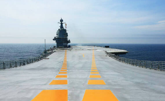 归来!中国国产航母圆满完成首次海试