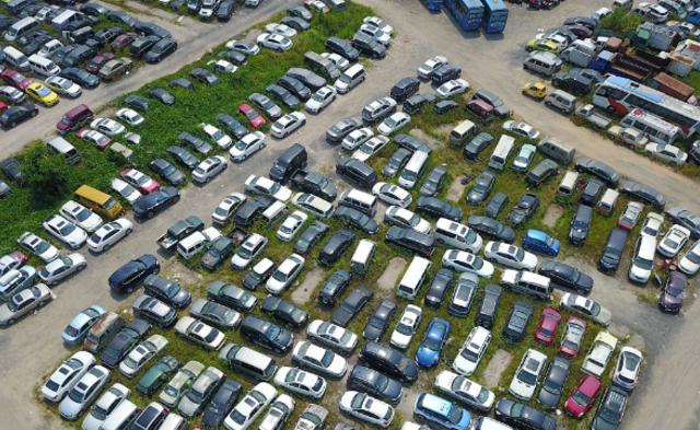 深圳:5.5万辆车被强制报废|组图