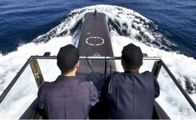 首次揭秘韩国海军潜艇艇员生活|高清图
