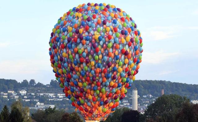 德国举行国际热气球大赛|组图