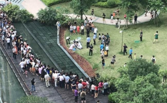 福建3儿童在小区景观池死亡 疑似触电