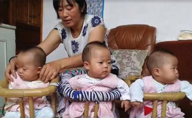 41岁外婆生下三胞胎 卖房凑奶粉钱