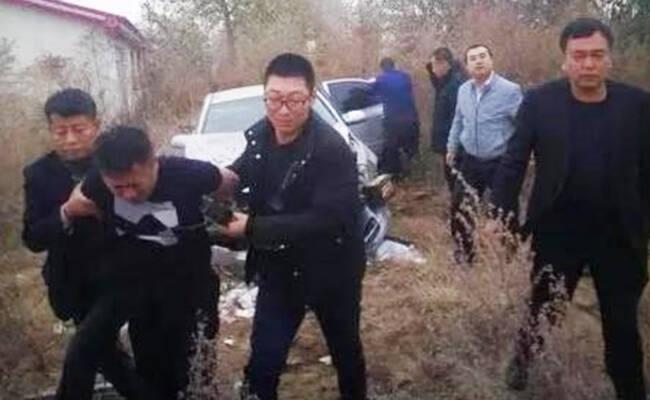 大庆在押脱犯刘文忠被抓现场