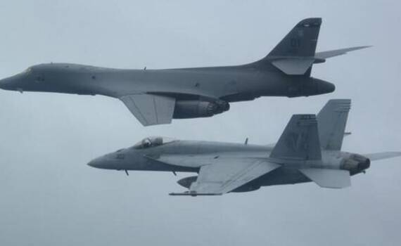 目标中国航母!美国致命空中组合飞抵菲律宾