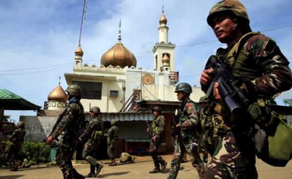 """杜特尔特发出警告:""""伊斯兰国""""已在菲律宾立足"""
