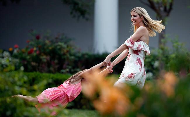 白宫夏季野餐会现场