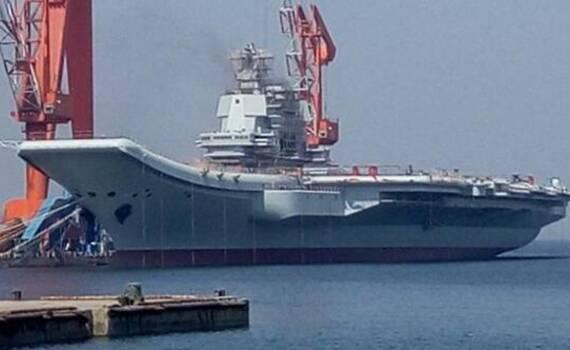 进度喜人 中国001A航母提前测试动力系统