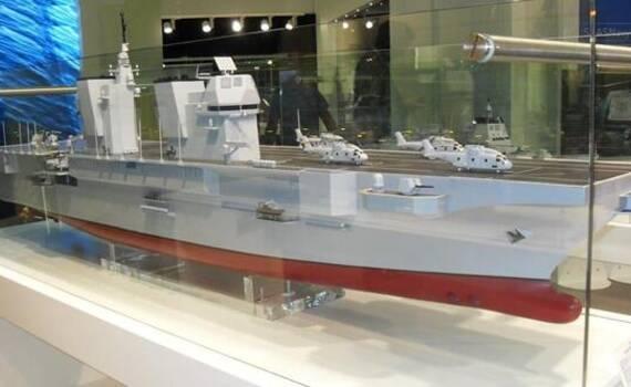 欧洲最强两栖舰开工 样子很丑却令中国羡慕