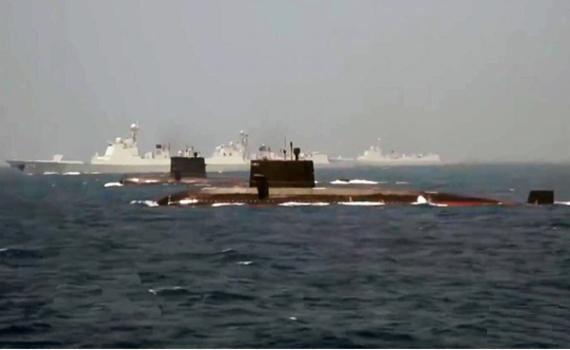 052D搭档最强AIP潜艇 中国在东海要有大动作?