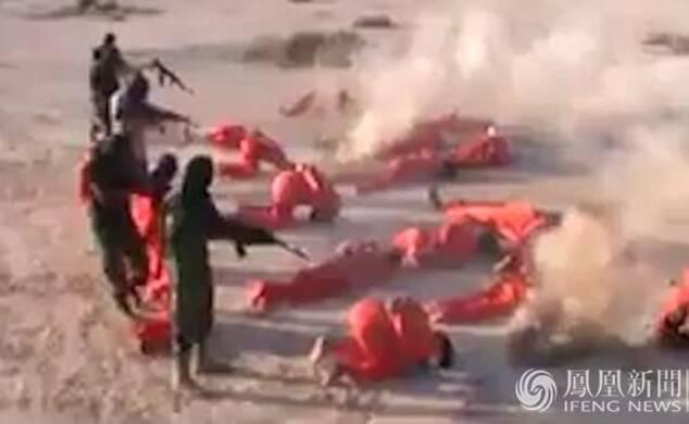 利比亚国民军枪决18名IS成员