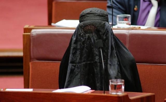 澳大利亚国会一幕|组图