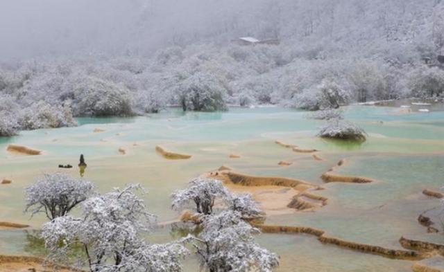 四川多地降雪 最厚积雪3厘米|组图