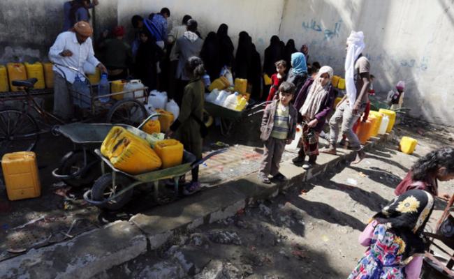 这里每天有130名儿童死于饥荒贫困