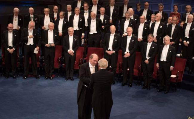 诺贝尔颁奖典礼