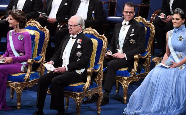 2017诺贝尔奖颁奖典礼