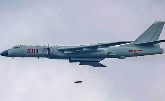 战神领衔!中国空军航空飞镖赛经典画面回顾