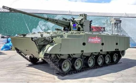 俄陆军新装备扎堆亮相 明星装备曾被中国看不起