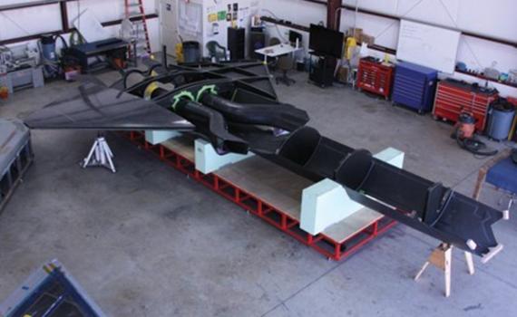 居心叵测!美国制造隐身无人靶机模拟歼20