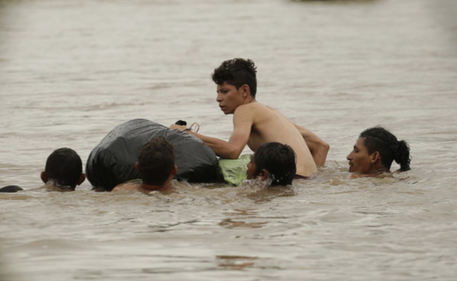 企图抵达美国的洪都拉斯移民