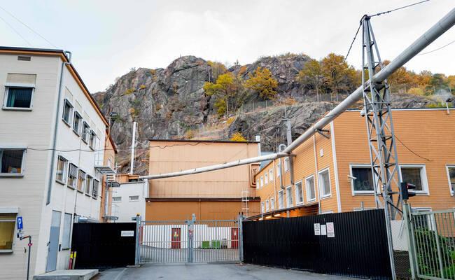 挪威一核反应堆发生泄漏现场